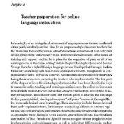 آمادگی معلم برای آموزش آنلاین زبان