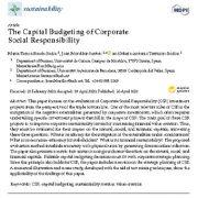 "<span itemprop=""name"">بودجه بندی سرمایه ای مسئولیت پذیری اجتماعی شرکتی</span>"
