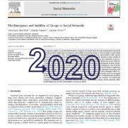 ظهور و پایداری گروهها در شبکههای اجتماعی