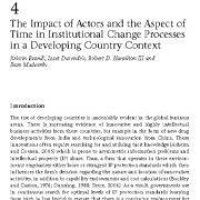 تأثیر مدیران و فاکتورهای زمان در فرایندهای تغییر سازمانی
