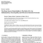 "<span itemprop=""name"">بررسی ویژگیهای متعدد اینترلوکین-۶ و اهمیت IL-6 در درمان بیماریهای التهابی</span>"