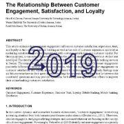 رابطه ی بین تعامل و مشارکت، رضایت و وفاداری مشتری