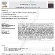 "<span itemprop=""name"">بررسی تأثیر پذیری یاختههای بنیادی هماتوپویتی، مزانشیمی و نورونی از لیتیم</span>"