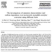 بررسی ویژگیهای انتشار آلودگی و ترسیب کربن بر روی مبدل کاتالیستی