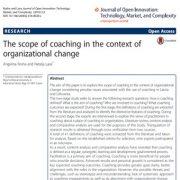 حوزهی مربیگری در زمینهی تغییر سازمانی