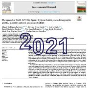 شیوع SARS-CoV-2 در اسپانیا: عادات بهداشتی،  ویژگی  اجتماعی و جمعیت شناختی