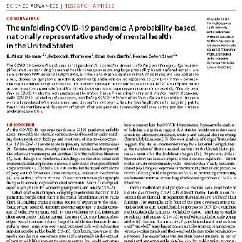 تشریح و آشکارسازی همه گیری کوید-۱۰(COVID-19)