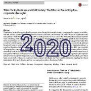 اندیشکده ها، کسب و کار و جامعهی مدنی: اصول و مبانی اخلاقی