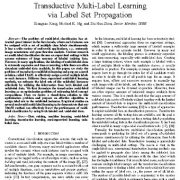 "<span itemprop=""name"">یادگیری چند برچسبی انتقالی از طریق انتشار مجموعه برچسب</span>"