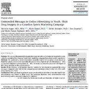 انتشار و ظهور پیامهای ناخواسته در تبلیغات آنلاین به جوانان