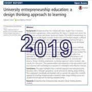 آموزش کارآفرینی دانشگاهی: رویکرد تفکر و نگرش طراحی نسبت به یادگیری