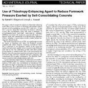 استفاده از عامل بهبود دهندهی روان وردی (تیکسوتروپی) برای کاهش فشار قالب