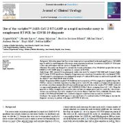 "<span itemprop=""name"">استفاده از variplex ™ SARS-CoV-2 RT-LAMP به عنوان یک روش مولکولی سریع</span>"