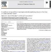 استفاده از طرح اولیه و محک زنی برای تعیین و تشخیص منابع بازاریابی