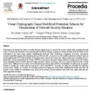 طرح حفاظت چند سطحی مبتنی بر رمزنگاری بصری برای دیداری سازی