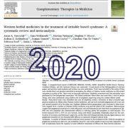 داروهای گیاهی غربی در درمان سندرم روده تحریک پذیر: یک مرور سیستماتیک