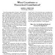عوامل موثر بر  تحقیقات نظری