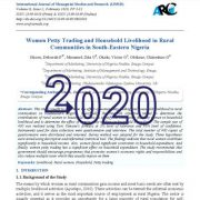 تجارت خرده فروشی زنان و معیشت خانوار در جوامع روستایی