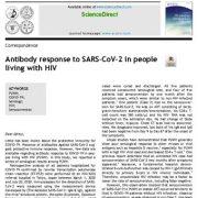 "<span itemprop=""name"">پاسخ آنتی بادی به SARS-CoV-2 در افراد مبتلا به HIV</span>"