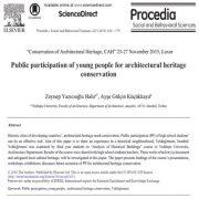 مشارکت  افراد جوان برای حفاظت از میراث فرهنگی معماری