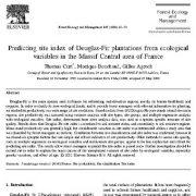 پیش بینی شاخص سایت نهالستانهای صنوبر از متغیرهای اکولوژیک  در مرکز فرانسه