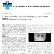 آمپیم دو طرفه پس از مسمومیت با نفت سفید: یک گزارش موردی از امال پائول